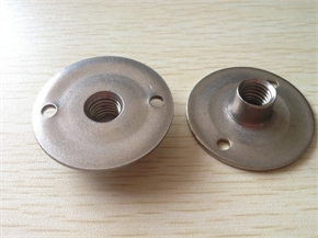 high quality SS304 T nut with hole